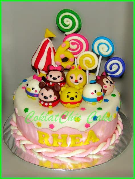 Tas Ulang Tahun Resleting Tsum Tsum cake tsum tsum rhea jual kue ulang tahun