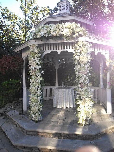 Wedding Arbor Decoration Ideas   Custom Florals   Chuppahs