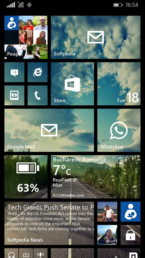 read news on your windows phone home screen with this free app