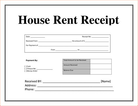 Sle Letter Of Rent Receipt Rent Receipt Doc 25 Images House Rent Receipt Authorization Letter Pdf 8 House Rent Receipt