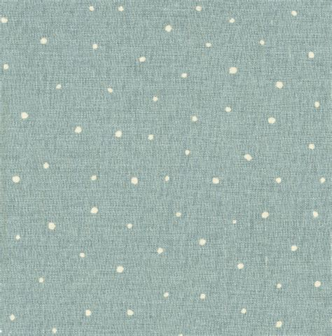 Duck Egg Upholstery Fabric by Oilcloth Plain Dotty Duck Egg Traditional Upholstery