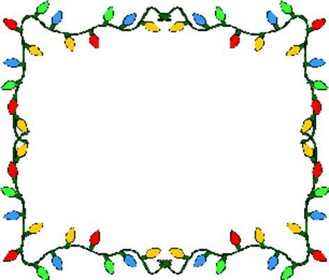 christmas light border clip art clipart best