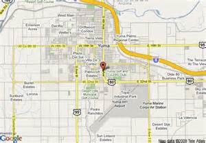 map of rodeway inn suites yuma yuma