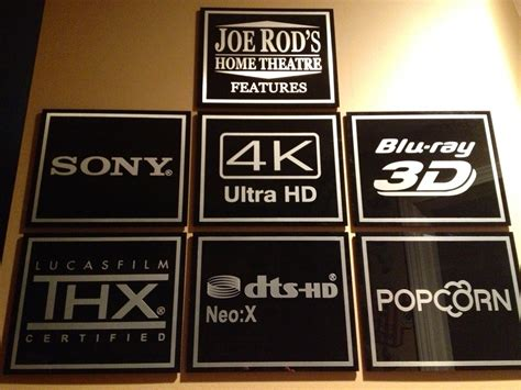 home theater signs forum