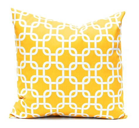 Yellow Decorative Pillows by Yellow Pillows Yellow Throw Pillow Covers By Companytwentysix
