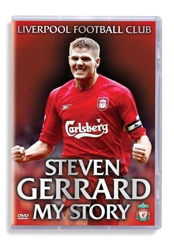 Steven Gerrard My Story liverpool fc steven gerrard my story dvd by itv studios