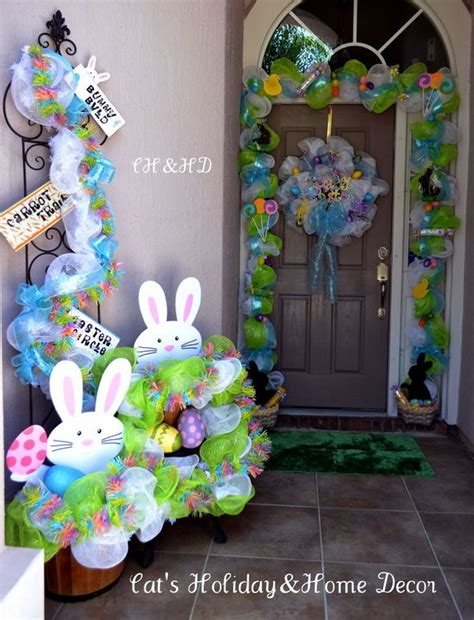 easter decoration creative easter outdoor decoration ideas hative