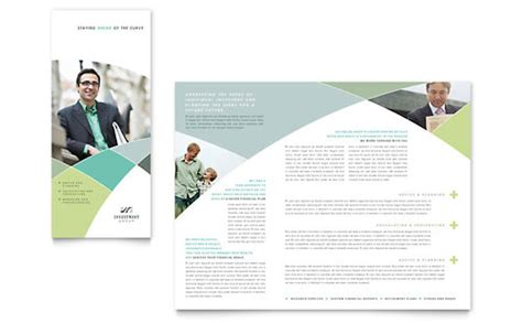 Financial Planning Tri Fold Brochure Templates Financial Services Financial Services Brochure Template Free