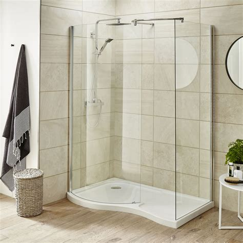 Walk In Shower Stalls Premier 1400mm Walk In Shower Enclosure Left Or Right