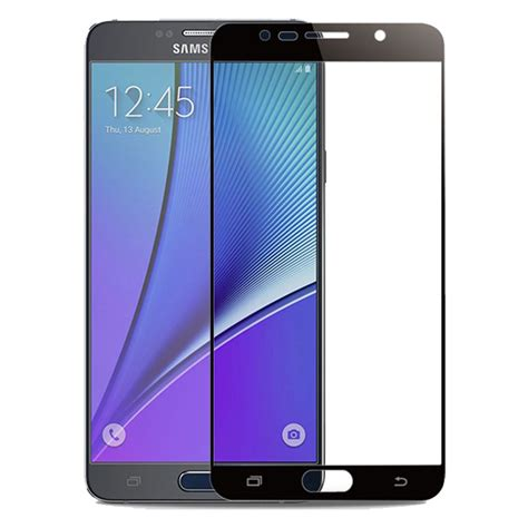 Tempered Glass Samsung Galaxy Note 5 Screen Guard Anti T3009 2 samsung galaxy note 5 tempered glass screen protector سایمان دیجیتال