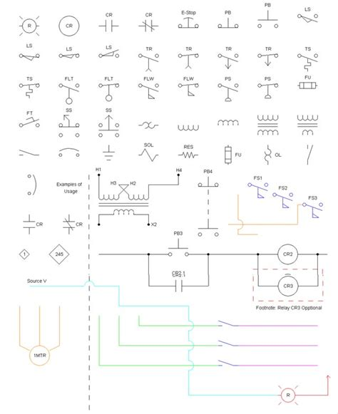 electrical schematic symbols cad electrical free engine