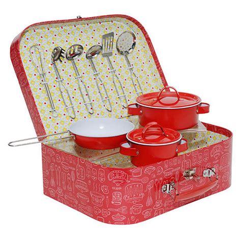 Vintage Kitchen Set by Vintage Tin Kitchen Set Pretend Play Tiger Tribe Toys