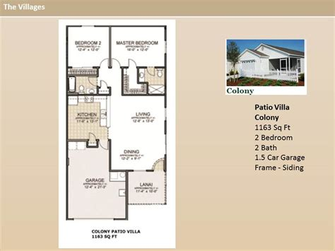 the villages home floor plans the villages homes patio villas colony model