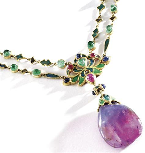 louis comfort tiffany jewelry art nouveau necklace by louis comfort tiffany of tiffany