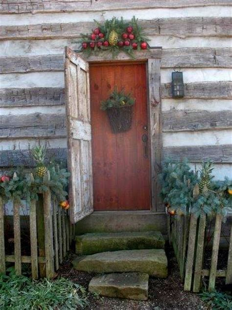 log home decorations 33 cute log cabin christmas decorations
