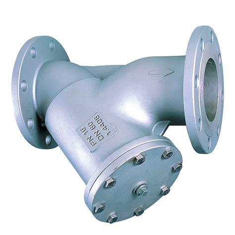 1 Stainless Steel Y Strainer by Stainless Steel Y Strainer Flanged Pn16 Leengate Valves