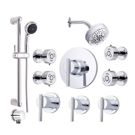 Danze Shower Valve Parts by Danze Parma Shower Bundle 1 Chrome Shower Handshower And