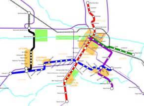 Houston Metro System Map by Intermodality