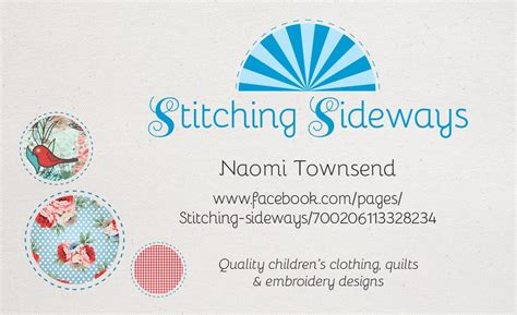 embroidery business card template illustrator logo business card design