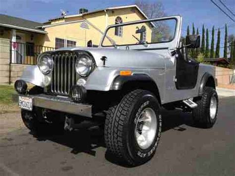 Jeep Cj7 Soft Doors Buy Used 1976 Jeep Cj7 Laredo 4x4 Manuel 5 Speed Ca Car