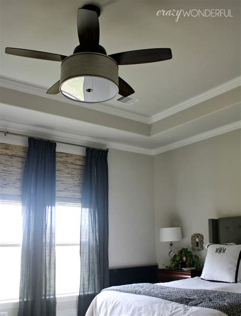 Diy Drum Shade Ceiling Fan Crazy Wonderful Ceiling Light Shade Diy