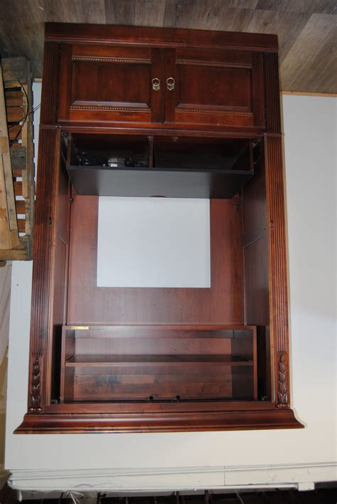 armoire cherry wood route 66 furniture 187 ethan allen cherry wood armoire