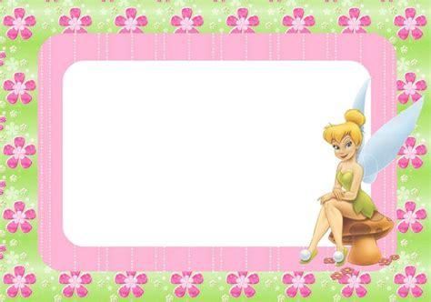 Tinkerbell Birthday Card Template