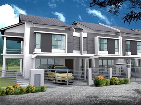 Modern Home Design Malaysia register now for our new phase double storey terrace