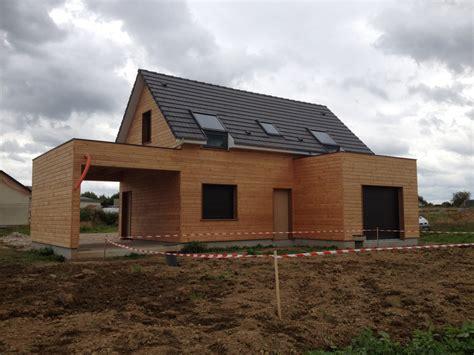 construction d une maison construction d une maison ossature bois 224 flamanville