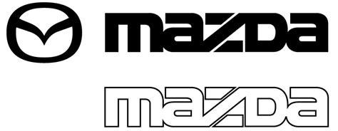Wallpaper Sticker 478 mazda logo vector image 478