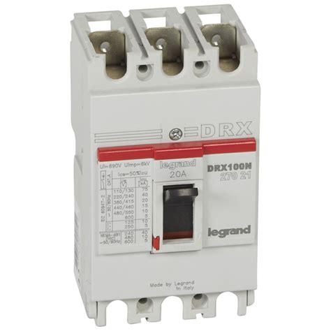 Mccb Legrand Drx by Mccb Drx 125 Thermal Magnetic Icu 20ka 415v 3p