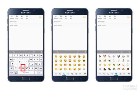 samsung s emoji suite makes for a more emotional digital world samsung global newsroom