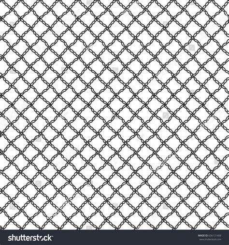 repeating pattern en français simple seamless lace mesh loops black stock vector