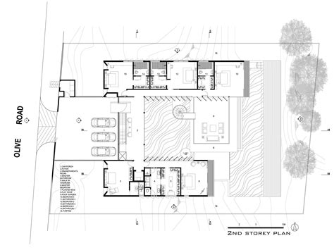 Hillside Floor Plans | gallery of hillside house ar43 architects 11