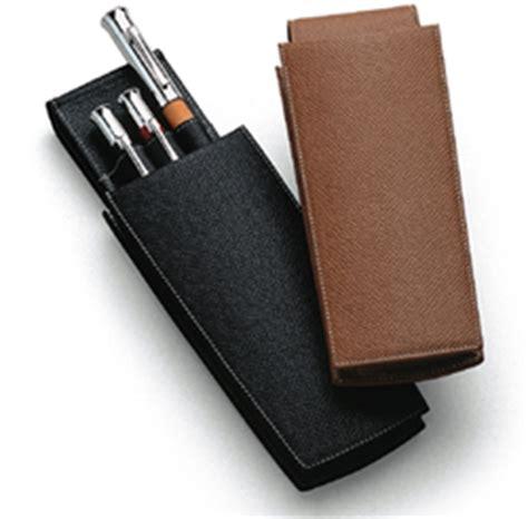 Pouch Castelle penbox graf faber castell leather pen cases