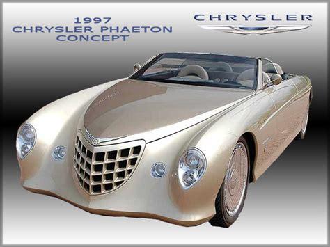 chrysler phaeton 1997 chrysler phaeton zapomniane koncepty autokult pl