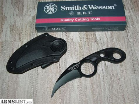 smith and wesson knives hrt armslist for sale smith wesson hrt claw