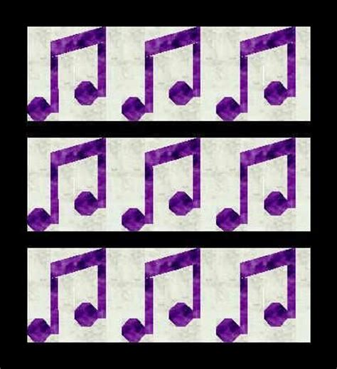 design pattern notes musicals note and quilt designs on pinterest