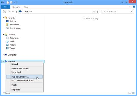 map network drive windows 8 how to map a network drive in windows 7 and windows 8