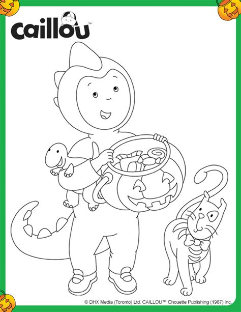 Caillou Coloring Pages by Coloring Pages Caillou