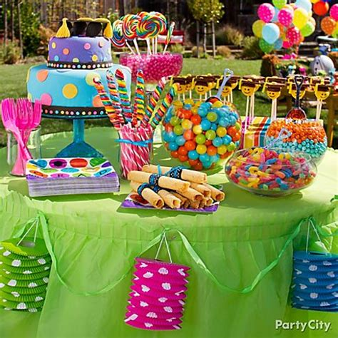colour themes party a colorful graduation party inspired in style