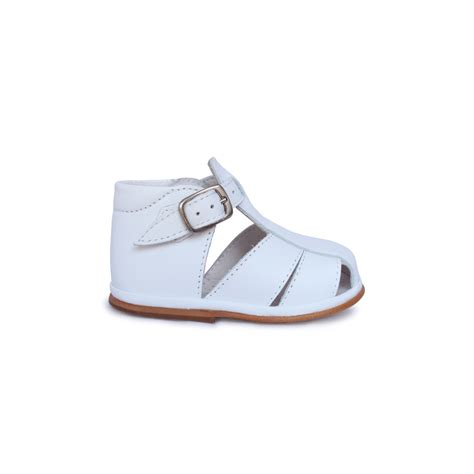 white baby sandals baby shoes white leather sandals