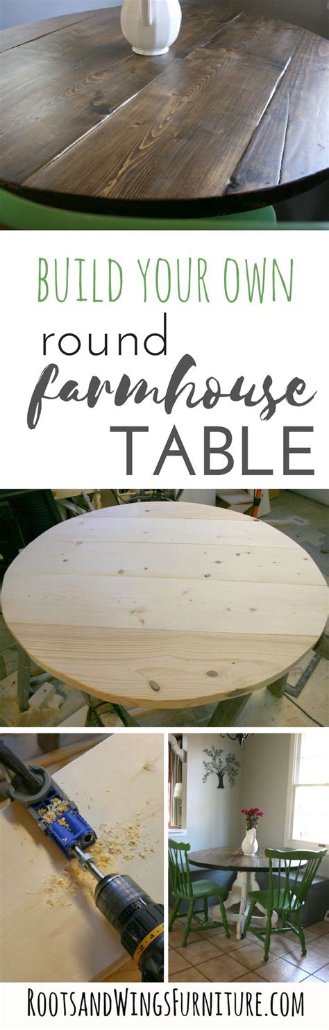 round table wing how to build a round table top k 246 k vardagsrum och