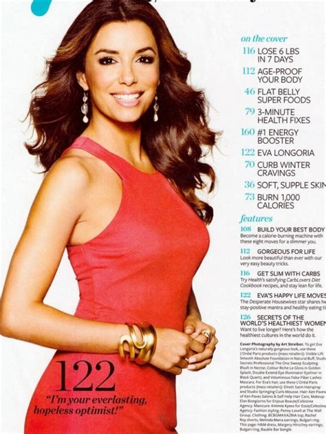 Longoria Reveals To Magazine Plans To Adopt by Longoria Talks Healthy And Secrets With