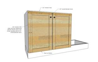 Kitchen Cabinet Plan Style Kitchen Sink Base Cabinet For Our Tiny House Kitchen