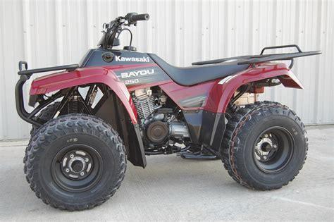 250 Kawasaki Bayou 2009 kawasaki bayou 250 pics specs and information