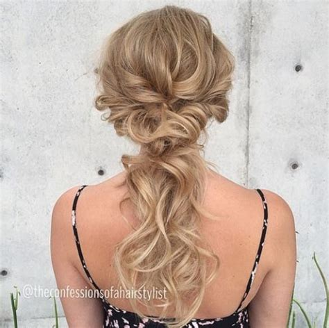super easy updo for fine hair 25 best ideas about ponytail updo on pinterest
