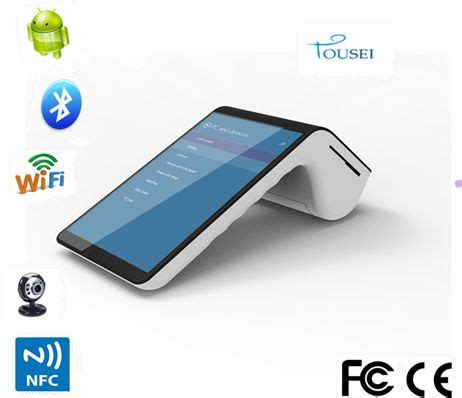 Wifi Portable Untuk Tablet dual display portable wifi 4g pos terminal 2d barcode scanner android tablet thermal printer