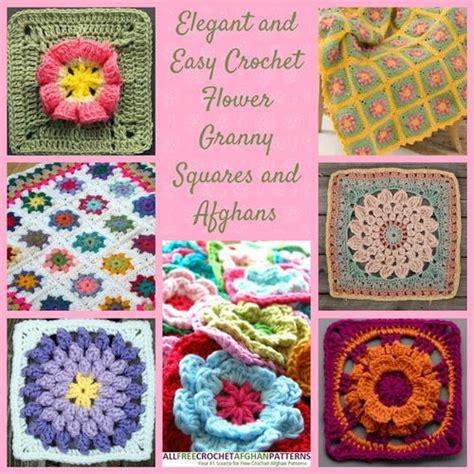 crochet pattern black eyed susan black eyed susan squares allfreecrochetafghanpatterns com