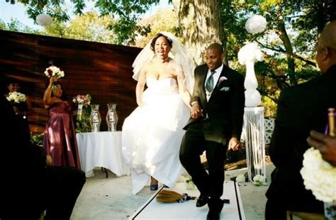 Wedding Ceremony Jumping The Broom by New Marriage Stats Northeasterners Less Happy More